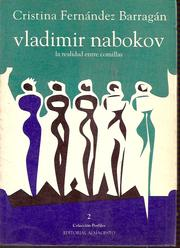 Cover of: Vladimir Nabokov