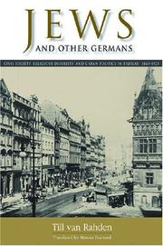 Cover of: Jews and other Germans | Till van Rahden