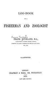 Cover of: Log-book of a fisherman and zoologist