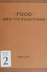 Food and its functions