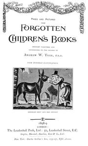 Pages and pictures from forgotten children's books