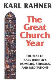 Cover of: The great church year