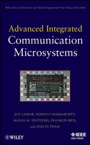 Cover of: Advanced integrated communication microsystems |