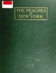 Cover of: Peaches Of New York
