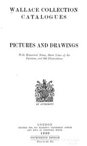 Cover of: Pictures and drawings