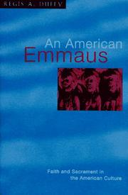 Cover of: An American Emmaus