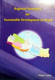 Cover of: Regional strategies for sustainable development in Nepal