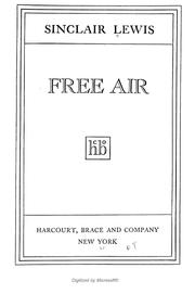 Cover of: Free air