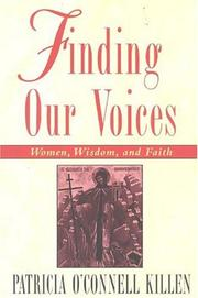 Cover of: Finding our voices
