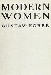 Cover of: Modern women | Gustav KobbГ©