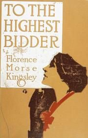 Cover of: To the highest bidder