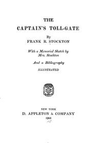 Cover of: The Captain's Toll-Gate