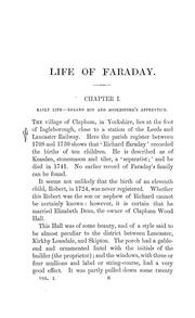 The life and letters of Faraday.