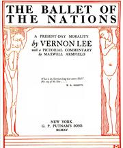 Cover of: The ballet of the nations: a present-day morality