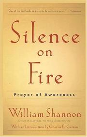 Cover of: Silence on fire