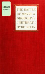 Cover of: battle of Wavre and Grouchy