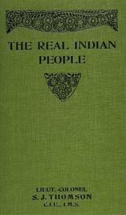 Cover of: The real Indian people