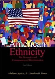 American ethnicity by Adalberto Aguirre