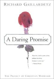 Cover of: A Daring Promise