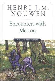 Cover of: Encounters with Merton