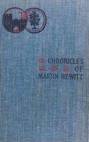 Cover of: Chronicles of Martin Hewitt