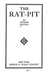 The rat-pit by Patrick MacGill