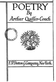 Cover of: Poetry. | Arthur Thomas Quiller-Couch