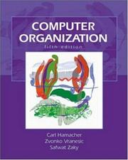 Cover of: Computer organization | V. Carl Hamacher