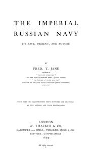 Cover of: Imperial Russian navy | Fred T. Jane