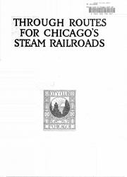 Cover of: Through routes for Chicago