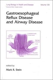 Cover of: Gastroesophageal reflux disease and airway disease |