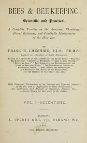 Cover of: Bees & bee-keeping | Frank Richard Cheshire