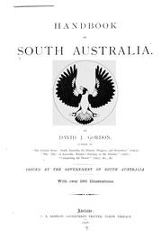 Cover of: Handbook of South Australia. | David John Gordon