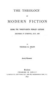 The theology of modern fiction by Selby, Thomas G.