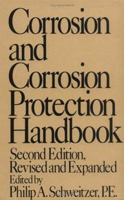 Cover of: Corrosion and Corrosion Protection Handbook (Corrosion Technology 1) | Schweitzer