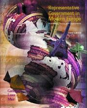 Cover of: Representative Government in Modern Europe | Michael Gallagher, Michael Laver, Peter Mair