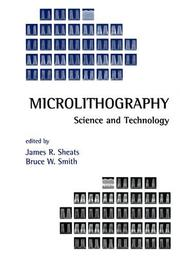Cover of: Microlithography |
