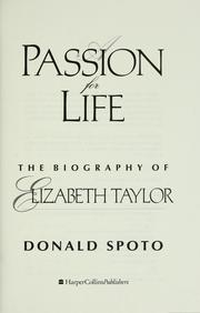 A passion for life by Donald Spoto