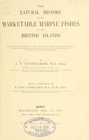 Cover of: The natural history of the marketable marine fishes of the British islands