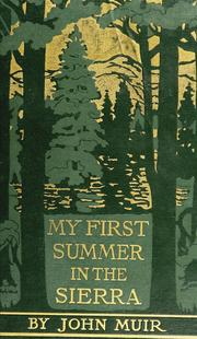Cover of: My first summer in the Sierra