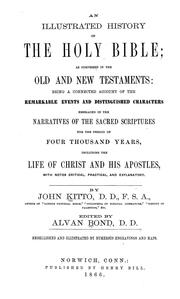 Cover of: An illustrated history of the Holy Bible