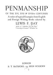 Penmanship of the XVI, XVII & XVIIIth centuries