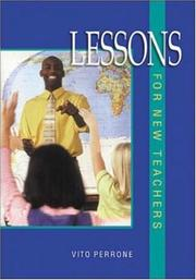Cover of: Lessons For New Teachers | Vito Perrone