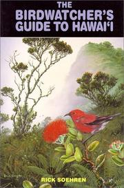 Cover of: The birdwatcher's guide to Hawaiʻi