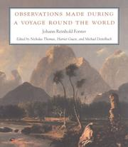 Cover of: Observations made during a voyage round the world