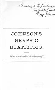 Cover of: Johnson's graphic statistics of Canada