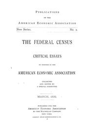 Cover of: The federal census