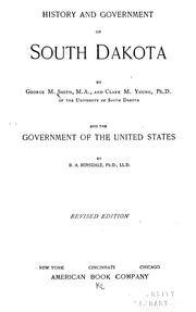 Cover of: History and government of South Dakota