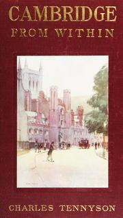 Cover of: Cambridge from within