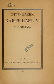Cover of: Kaiser Karl V